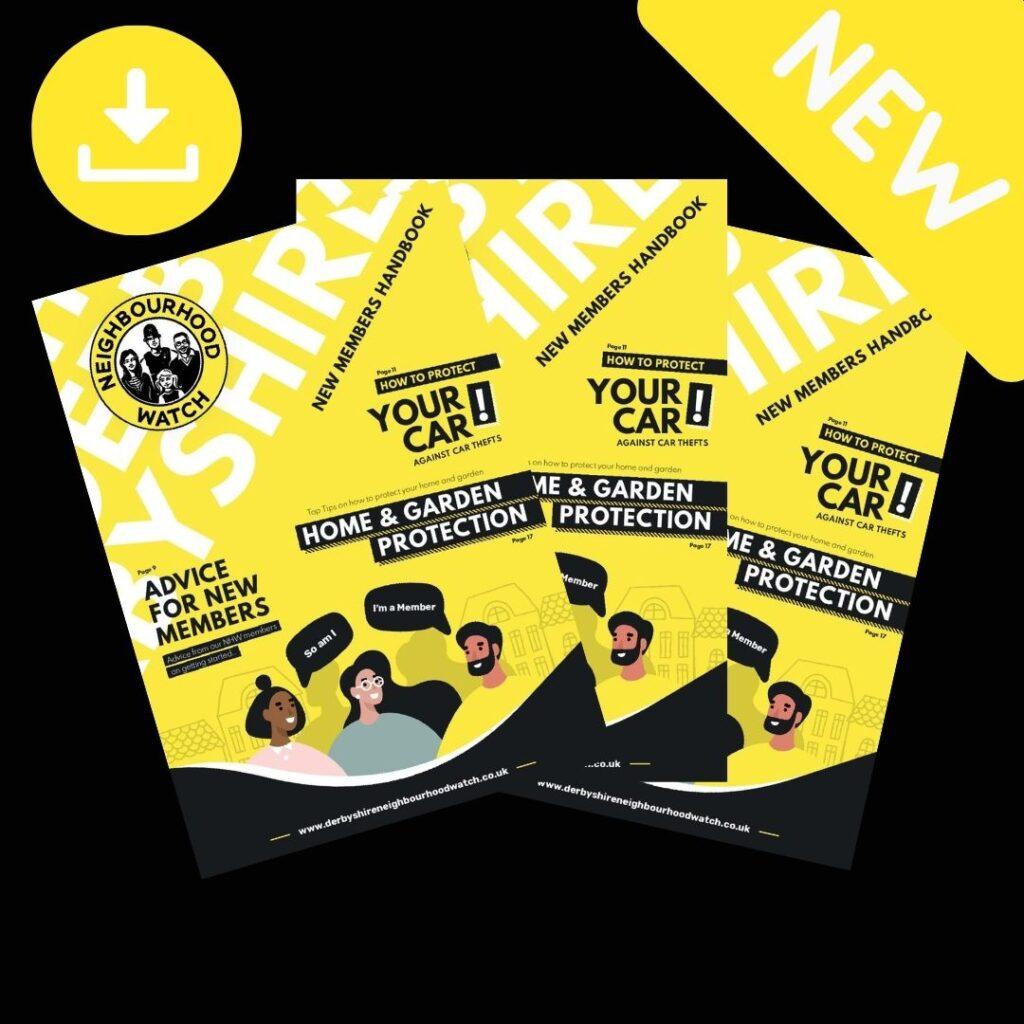 New Derbyshire NHW handbook for members